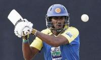Sri Lankan batting talent: Chamara Kapugedera at home