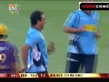 Allround Azhar upsets Kolkata: 2012 CL #5 KKR v AUC (Newlands)