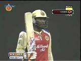 Gayle and Vinay shine in 2 run thriller: IPL 2013 #2 RCB v MI (Bangalore)