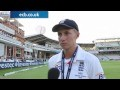 Joe Root after crushing win: will cherish special 180 (Lords)