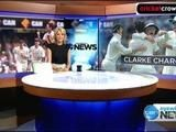 Break your bones: Clarke fined for sledging Anderson (Gabba)
