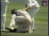 Great all-round feat: Ian Botham 8-34 and 108 (1978)
