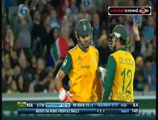 Abbott, Rossauw power SA to win: 1st T20 (Adelaide)