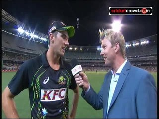 Cummins, Boyce setup commanding win: 2nd T20 (MCG)