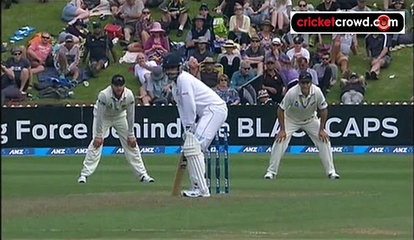 Late Bracewell strikes has NZ on top: 2nd Test, Day 1 (Wellington)