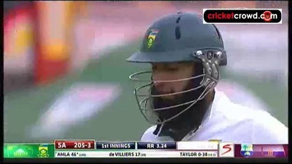 South Africa in charge after Amla fifty: 3rd Test, Day 2 (Cape Town)