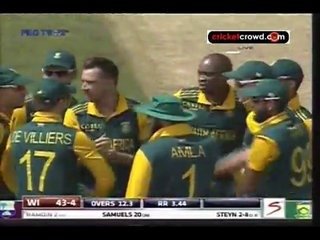 Philander, Tahir star as SA win series: 3rd ODI (East London)