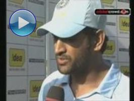 Dhoni: It was a deceptive wicket but we can enjoy the win