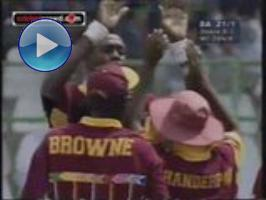 Lara century powers Windies into semis (1996)