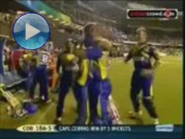 Duminy fireworks sees Cobras win opener: Champions League #1 (Bangalore)