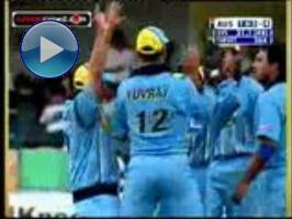 Yuvraj powers over Aussies in debut (2000)