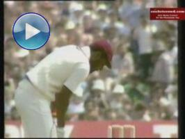 Viv Richards: Amazing 189* and century stand for 10th wicket