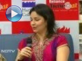 Anjali Tendulkar - Too nervous to watch Sachin play on the ground