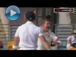 Game changer: Siddle hat-trick rocks England (Gabba)
