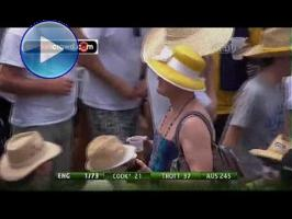 Cross-dressing and Elvis visit the Ashes, stumps Greigy
