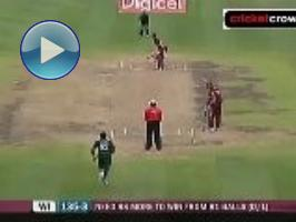Hafeez ton in vain as Simmons steers Windies to win: 4th ODI (Barbados)