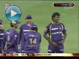 Kolkata signoff with big win, dent Titans' chances: 2012 CL #16 KKR v TIT (Newlands)
