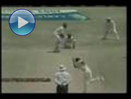 Collymore runs thru Lankans (2003, Sabina Park)