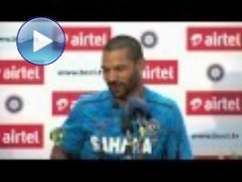 Dhawan thanks Australian wife after dream debut (Mohali)