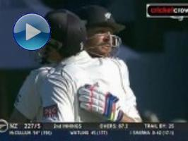 Fighting McCullum ton defies India: 2nd Test, Day 3 (Wellington)