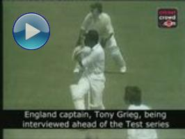 Infamous Grovel remark: Tony Greig fires up Windies