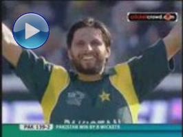 Afridi seals Pak cup glory: ICC T20 Final (Lords)