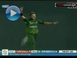 Afridi seals Pakistan win after scare: 2011 World Cup #16 (RPS)