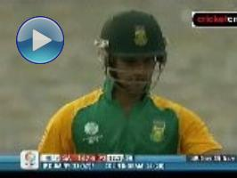 Duminy saves SA blushes: 2011 World Cup #34 (Kolkata)